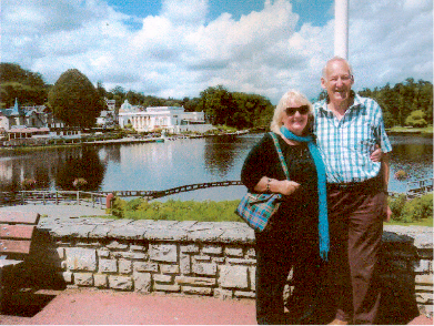 Colin and Jean in France 2013
